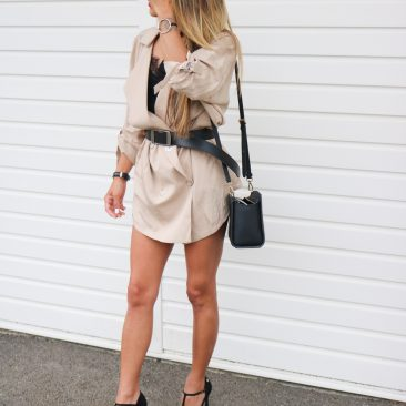 Trench robe