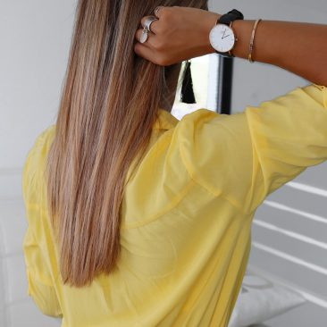 cheveux rose blonde